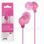 Наушники JVC HA-FX23 Pink
