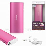 Power Bank 13000 mAh Yoobao YB-6016 розовый