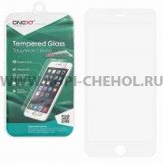 Защитное стекло Apple iPhone 6 Plus / 6S Plus ONEXT белое 0.3mm