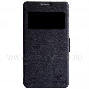 Чехол  откид  Huawei Honor 3X  Nillkin Fresh  чёрн