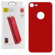 Защитное стекло Apple iPhone 7 Baseus Silk 3D Red заднее