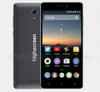 Телефон HighScreen Power Five Black / Grey