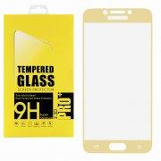 Защитное стекло Samsung C5 Glass Pro Full Screen золотое 0.33mm