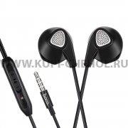 Наушники с микрофоном HOCO M2 Black