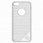 Чехол-накладка Apple iPhone 5/5S/SE 9450 серебристый