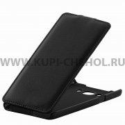 Чехол флип Samsung Galaxy J7 2016 UpCase чёрный