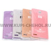 Чехол силиконовый Xiaomi Redmi Note 027687 фиолетовый