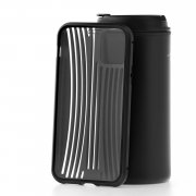 Чехол-накладка iPhone 11 Pro Kruche Metal Suitcase Black