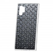 Чехол-накладка Samsung Galaxy Note 10+ Kruche Print Сталь