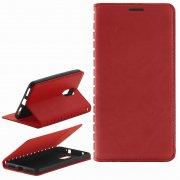 Чехол книжка Xiaomi Redmi Pro Book Case New красный Вид1