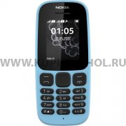 Телефон NOKIA 105 DS 2017 Blue