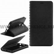 Чехол книжка Xiaomi Redmi 4 Pro New Case 001 черный