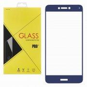 Защитное стекло Huawei P8 Lite Glass Pro Full Screen синее 0.33mm