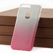 Чехол-накладка Apple iPhone 7 Plus 9191 с градиентом розовый