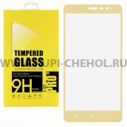 Защитное стекло Xiaomi Redmi Note 3 Glass Pro Full Screen золотое 0.33mm