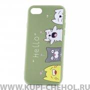 Чехол-накладка Apple iPhone 7/8 33003 Hello Green