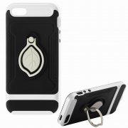 Чехол-накладка Apple iPhone 5/5S 10450 серебристый