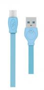 Кабель USB-Micro WK WDC-023 Blue 3m
