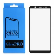 Защитная пленка Samsung Galaxy A6 Plus (2018) A605f Glass Pro Full Glue керамическая черная
