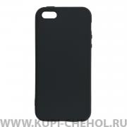 Чехол-накладка Apple iPhone 5/5S Black 1mm