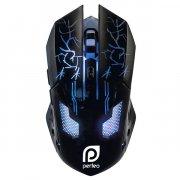 Мышка компьютерная проводная Perfeo Quest Game Design Black