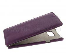 Чехол флип Samsung Galaxy Note 5 UpCase фиолетовый