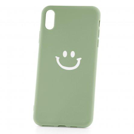 Чехол-накладка Apple iPhone XS Max 33002 Smile Green