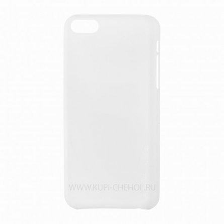 Чехол-накладка Apple iPhone 4/4S Melkco 0,4 mm бело-прозрачный