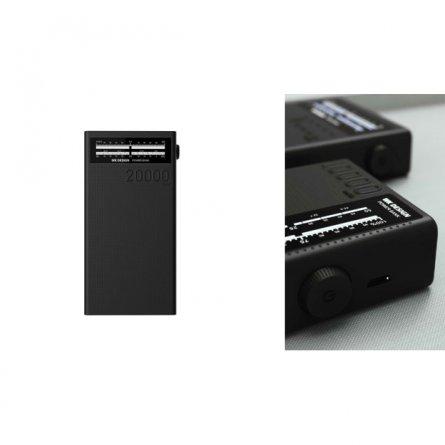 Power Bank 20000 mAh WK Sound WP-058 Black
