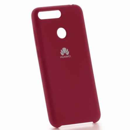 Чехол-накладка Huawei Honor 7A Pro 7001 малиновый