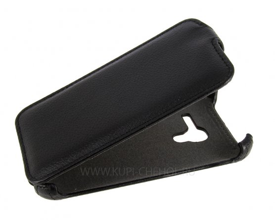 Чехол флип Alcatel One Touch 4035D iBox Premium чёрный