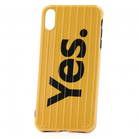 Чехол-накладка iPhone XS Max Yes. Yellow