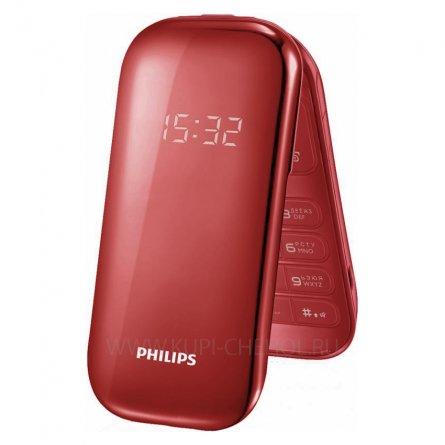 Телефон Philips E320 Red