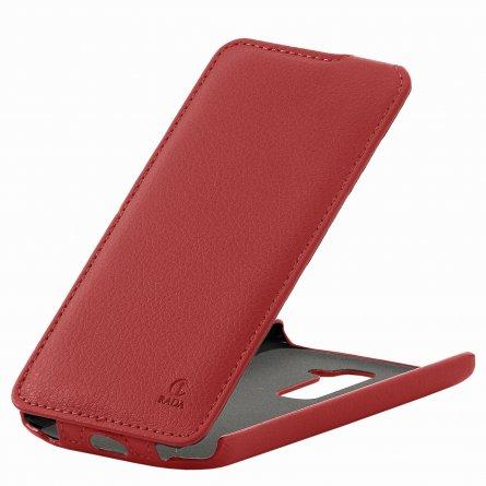 Чехол флип LG D802 Optimus G2 RADA красный 8000