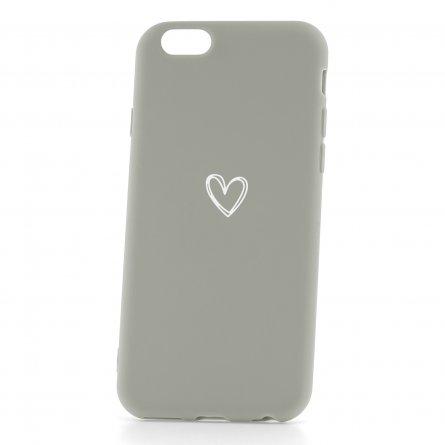 Чехол-накладка Apple iPhone 6/6S 33001 Love Grey