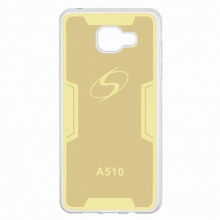 Чехол-накладка Samsung Galaxy A5 (2016) A510 9109 золотой