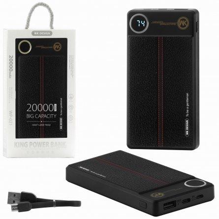 Power Bank 20000 mAh WK WP-021 King BY004