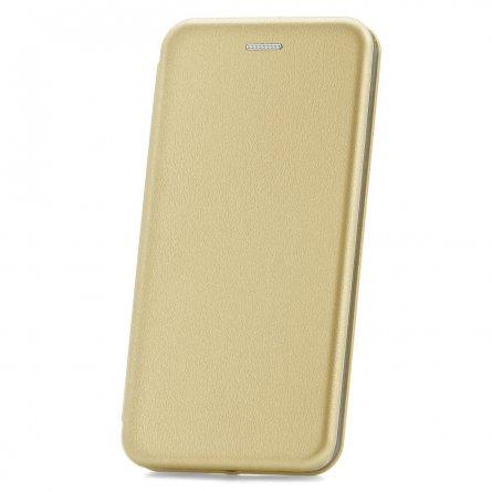 Чехол книжка Samsung Galaxy M30/A40 S Derbi Open Book-2 золотой с визитницей