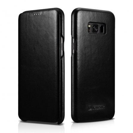 Чехол книжка Samsung Galaxy S8 Plus Icarer Black