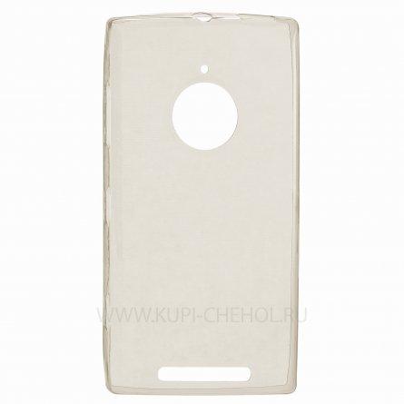 Чехол силиконовый NOKIA 830 Lumia серый глянцевый 0.5mm