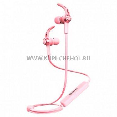 Спортивная bluetooth-гарнитура Baseus NGB11-04 Pink