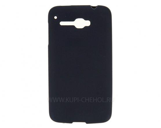 Чехол-накладка Alcatel One Touch 5035D чёрный матовый
