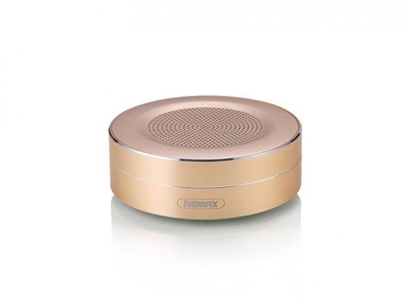 Колонка Bluetooth Remax RB-M13 Gold