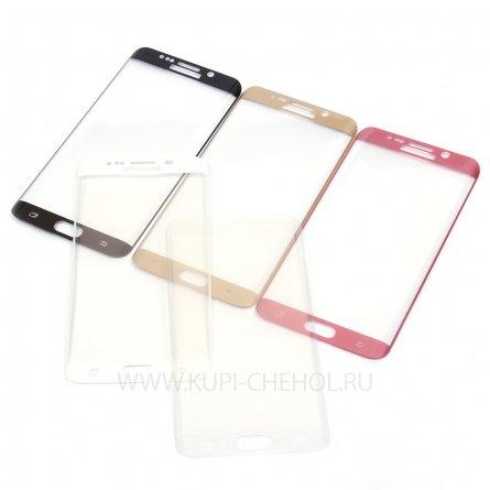 Защитное стекло Samsung Galaxy S6 Edge+ G928 8742 золотой