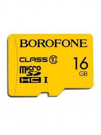 Micro SD 16Gb Class 10 к/п Borofone X-ray