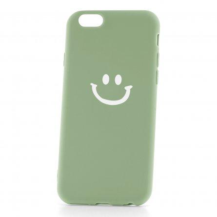 Чехол-накладка Apple iPhone 6/6S 33002 Smile Green