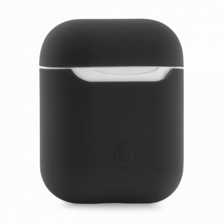 Чехол для Apple AirPods ультратонкий темно-серый