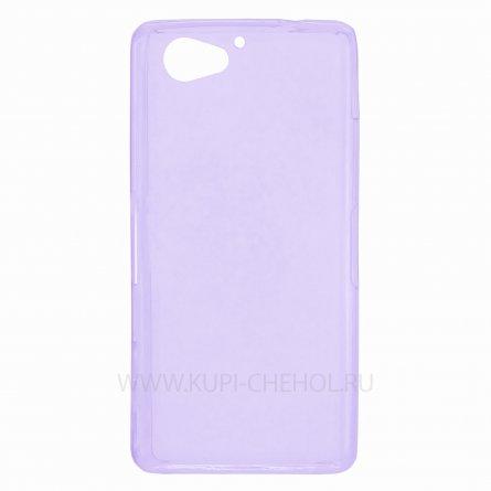 Чехол-накладка Sony Xperia Z2 Compact / Mini фиолетовый глянцевый 0.5mm