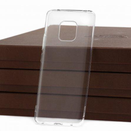Чехол-накладка Huawei Mate 20 Pro DF Slim Silicone прозрачный