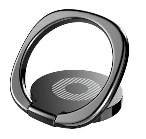 Кольцо-держатель Baseus Privity Black